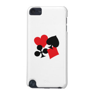 Four Card Suits iPod Touch 5G Cases