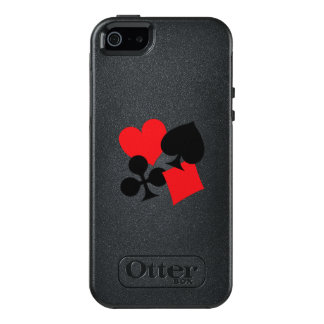 Four Card Suits OtterBox iPhone 5/5s/SE Case