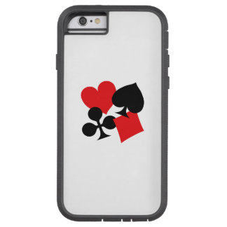 Four Card Suits Tough Xtreme iPhone 6 Case