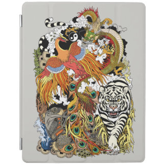 four celestial animals iPad smart cover