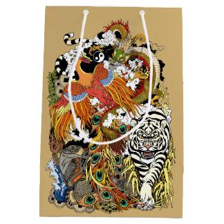four celestial animals medium gift bag