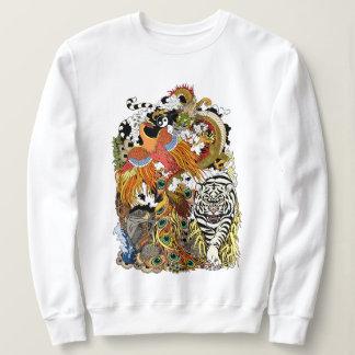 four celestial animals sweatshirt