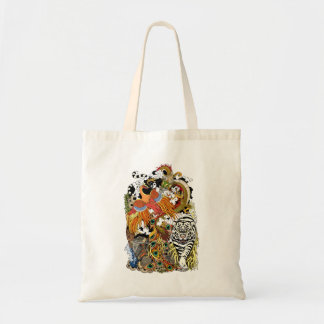 four celestial animals tote bag