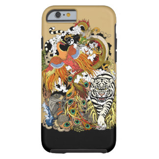four celestial animals tough iPhone 6 case