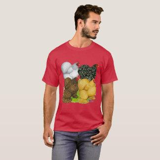 Four Cochin Hens T-Shirt