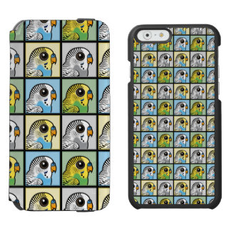 Four Color Budgies Incipio Watson™ iPhone 6 Wallet Case