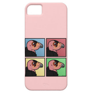 Four Color California Condor iPhone 5 Case