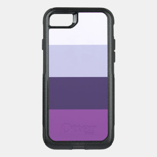 Four Color Combo - Blue Violet Purple Lavender OtterBox Commuter iPhone 8/7 Case