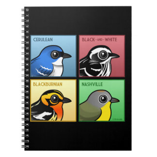 Four Color Warblers Notebooks