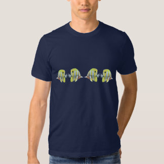 Four Copper-banded Butterfly Fish Tee Shirt