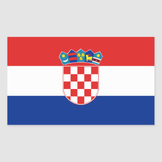 FOUR Croatia National Flag Sticker