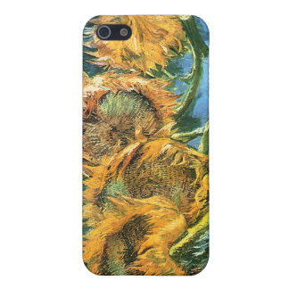 Four Cut Sunflowers, Vincent Van Gogh Cases For iPhone 5