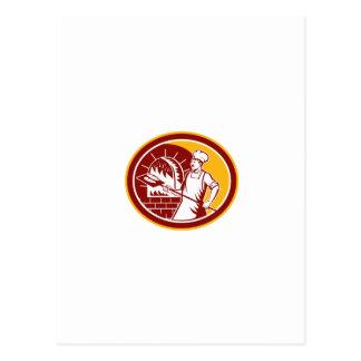 Four de peau de participation de Baker rétro Cartes Postales