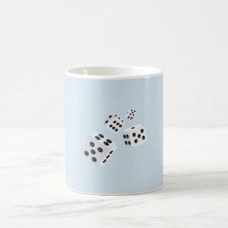 Four Dice Coffee Mug