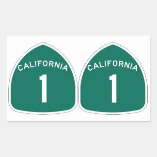 "FOUR Double ""California 1"" Sticker"