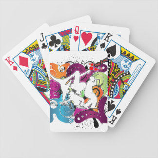 Four Elements 101 Bicycle Playing Cards