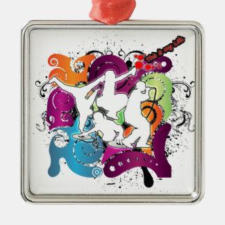 Four Elements 101 Metal Ornament