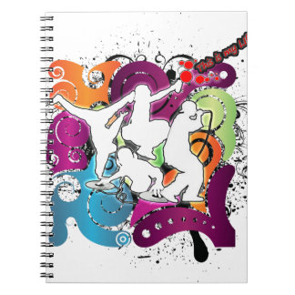 Four Elements 101 Spiral Notebooks