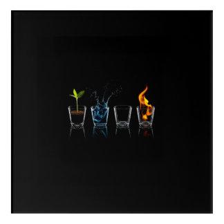 Four Elements Acrylic Print