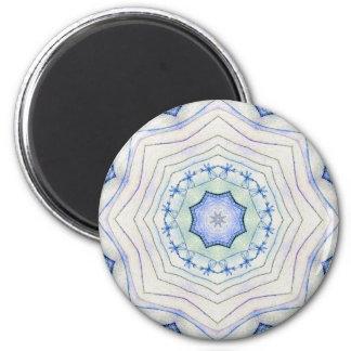 Four Elements Air Mandala 2 Inch Round Magnet
