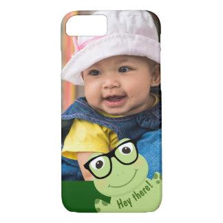 """Four-Eyed Frog """"Photo Bomb"""" iPhone 8/7 Case"""