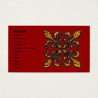 Four Fleur De Lis Business Card
