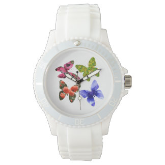 Four Flower Butterflies, Watch