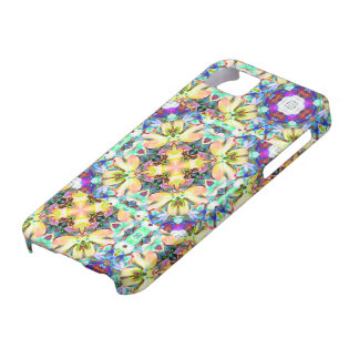 Four Flower Kaleidoscope iPhone Case