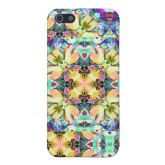 Four Flower Kaleidoscope iPhone Case iPhone 5 Cover