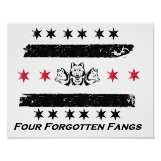 Four Forgotten Fangs - Army Poster
