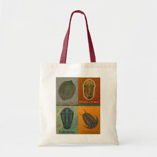 Four Fossil Trilobites Dark Tote Bag