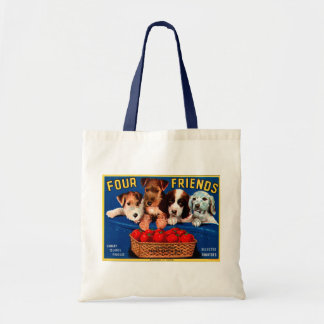 Four Friends Tote Bag