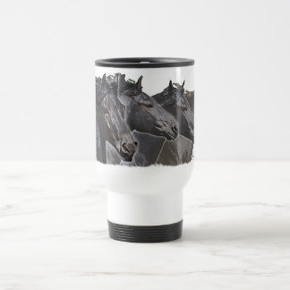 Four Friesians Travel Mug