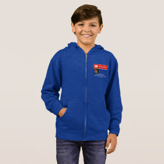 Four Fun Games YouTuber Hoodie Youth M