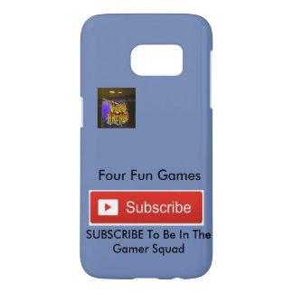 Four Fun Games YouTuber Samsung S7 Case