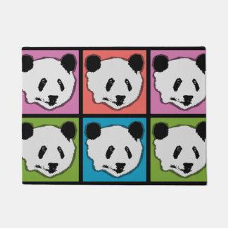 Four Giant Panda Bears Doormat