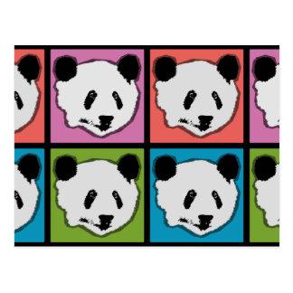 Four Giant Panda Bears Postcard