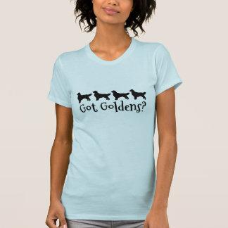 Four Golden Retrievers in Silhouette Got Goldens T-Shirt
