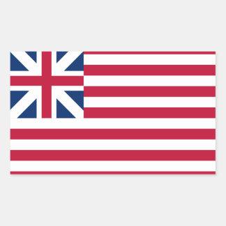 FOUR Grand Union Flag Sticker
