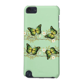 Four green butterflies iPod touch (5th generation) cover