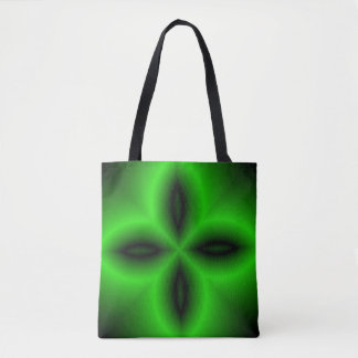 Four Green Petals Tote Bag