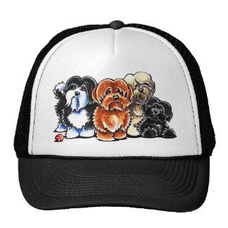 Four Havanese Trucker Hat