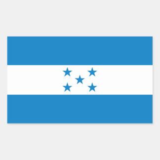 FOUR Honduras National Flag Sticker