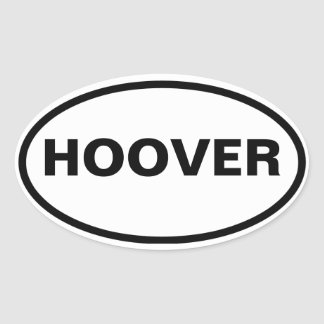 FOUR Hoover, Alabama Oval Sticker