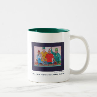 Four Horsemen After Rehab Two-Tone Coffee Mug