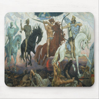 Four Horsemen of the Apocalypse Mouse Pad