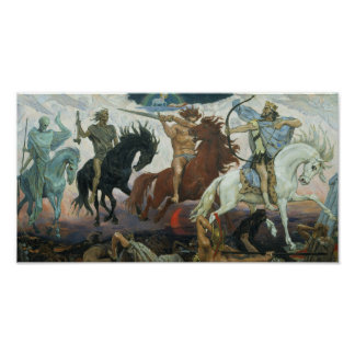 Four Horsemen of the Apocalypse Revelations Poster