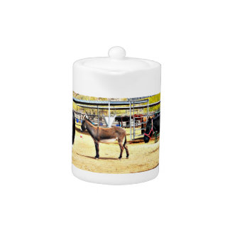 """Four Horses"" Kitchen Tea Pot"