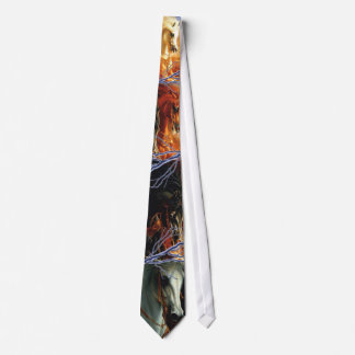 Four Horses Of The Apocalypse Tie