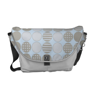 Four In A Row Inspired Dot Design Courier Bags